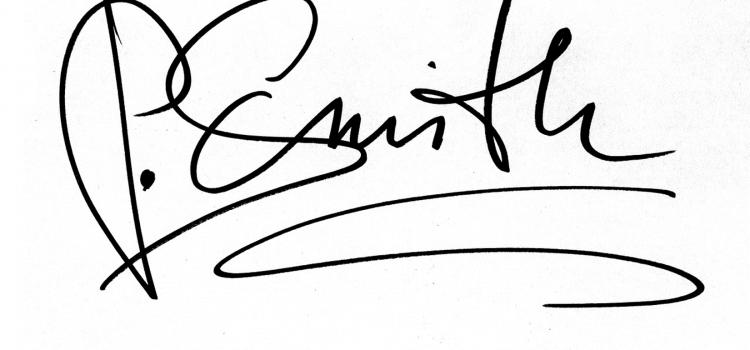 Ihre persönliche Note – die eigene Unterschrift